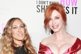 Sarah Jessica Parker and Christina Hendricks