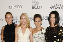 The style set get glammed up for a night at the ballet