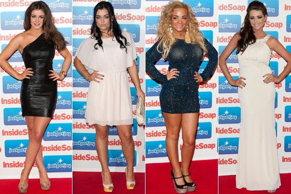 Inside Soap Awards 2011 red carpet