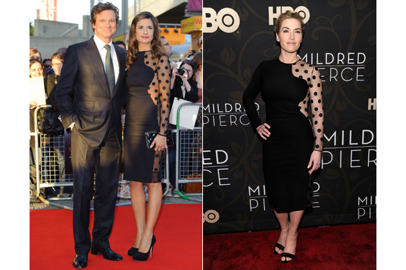 Livia Firth recycles Kate Winslet's look for Green Carpet Challenge