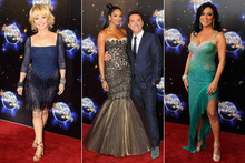 Sequins and sparkle galore! New Strictly contestants hit red carpet for launch event
