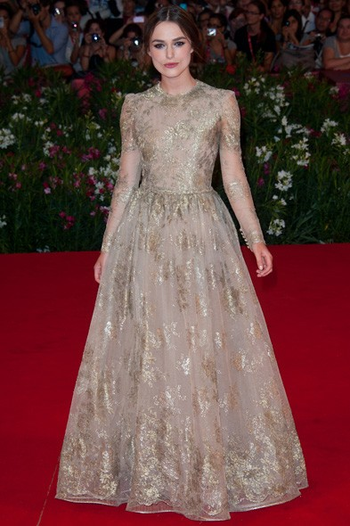 Keira Knightley at A Dangerous Method premiere