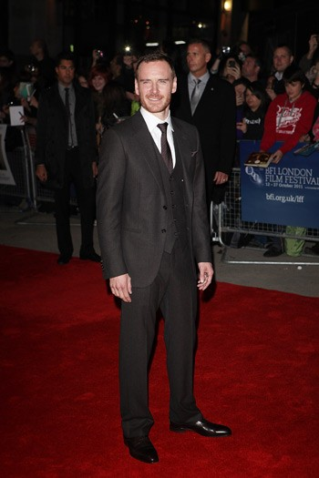 Michael Fassbender - A Dangerous Method premiere
