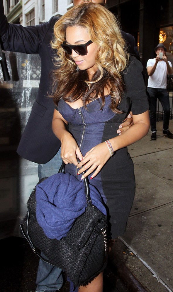 Beyonce, AOL, MyDaily, Kate McAuley, Bump watch
