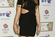 Mel C flashes her abs at Olympic ball