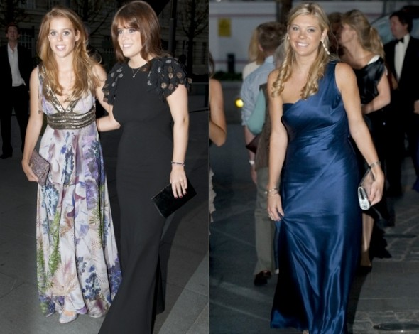 Fashion faux pas alert! Pippa and Geri wear matching dress to boxing ball