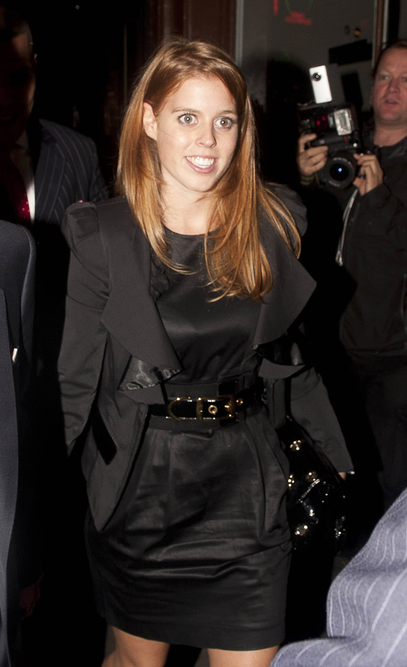 Hot or not: Princess Beatrice's little black dress