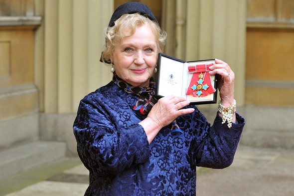 Celia Birtwell receives her CBE