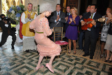 Duchess of Alba gets married, looks a lot more fun than Kate and Wills' wedding