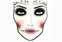 VIDEO: Mac's Halloween makeup how to