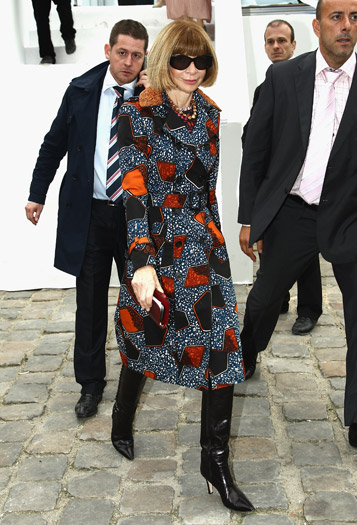 Anna Wintour at Louis Vuitton