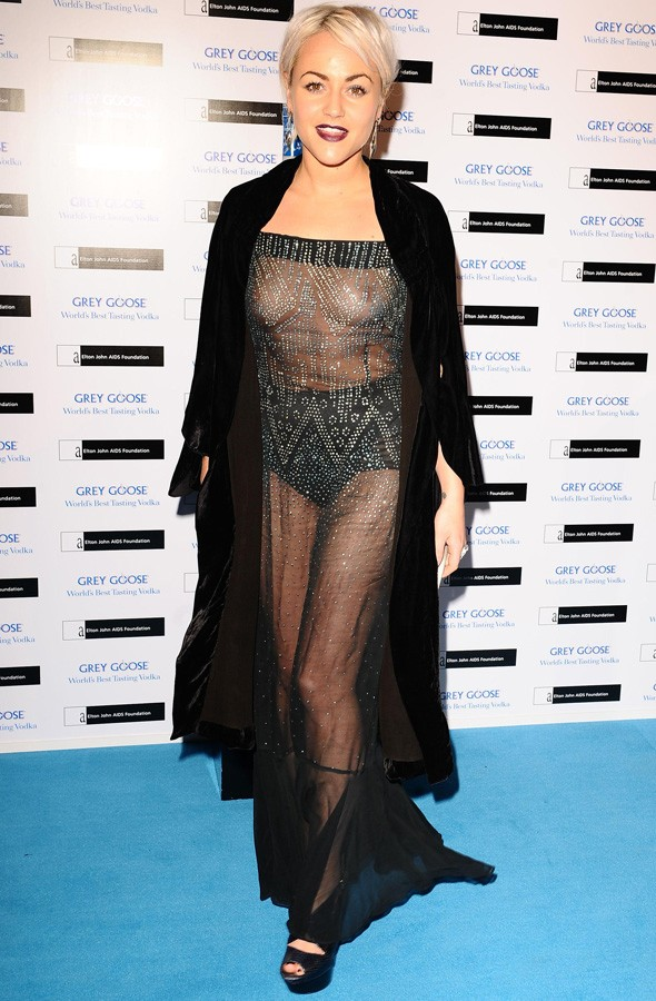 Jaime Winstone at Elton John's Winter Ball