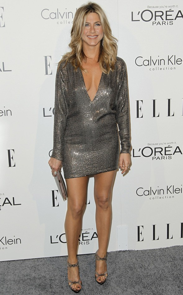 Jennifer Aniston At The Elle Women In Hollywood Awards