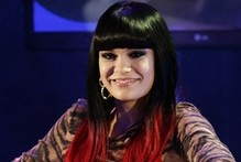 Hot or not: Jessie J debuts long red-tipped hair extensions