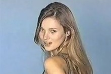 VIDEO: Kate Moss in one of her first ever modelling auditions