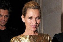 Going for gold: Kate Moss launches jewellery line