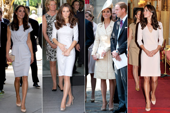 Middleton v Moss: Which Kate M beat Kate M to scoop best dressed title