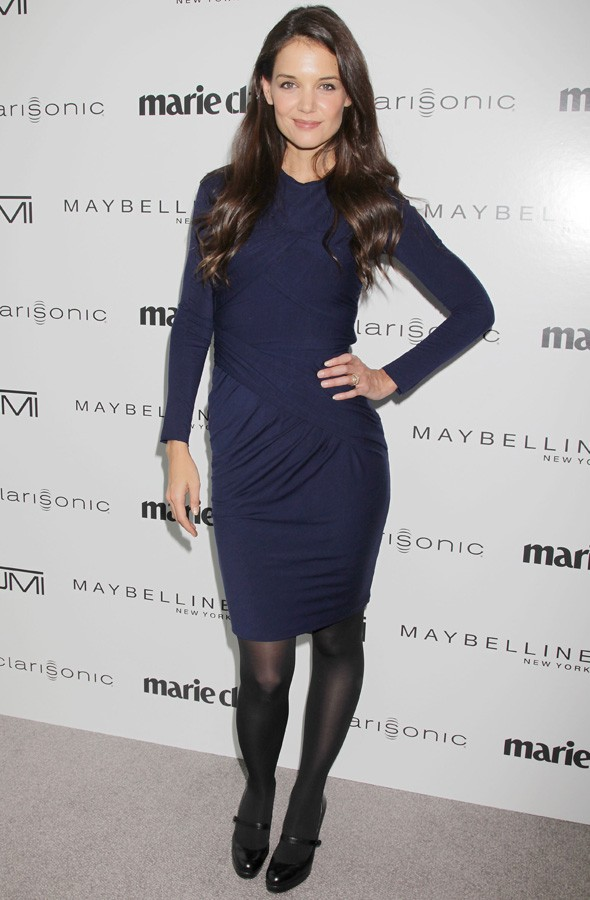 Katie Holmes at the Marie Claire Women on Top Awards