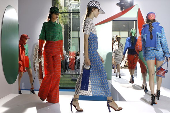 kenzo paris fashion week spring summer 2012