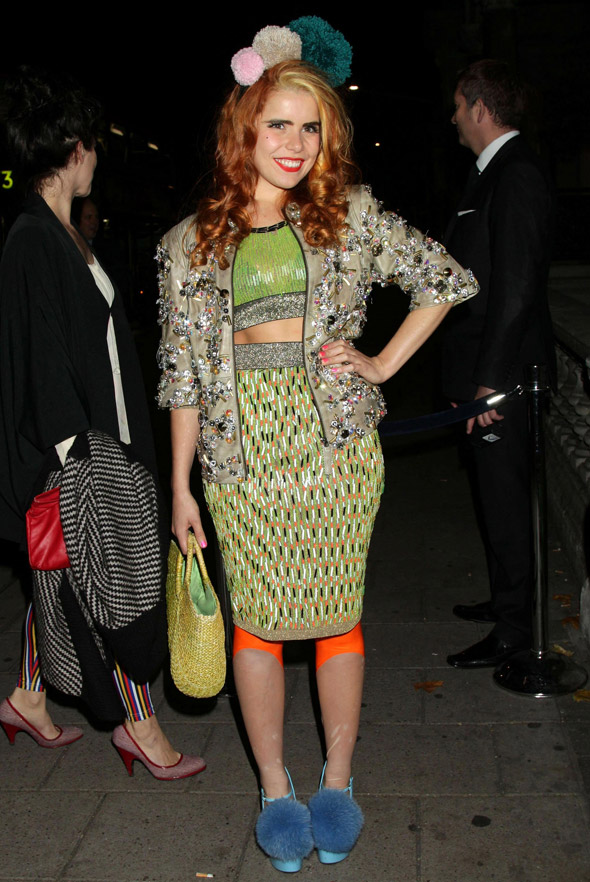 Battle of the leggings: Paloma Faith versus anonymous woman