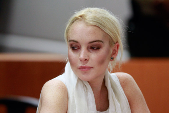 Lindsay Lohan's latest courtroom appearance