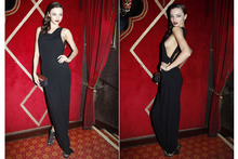 Miranda Kerr goes rather revealing at Carine Roitfeld's Irreverent Dinner