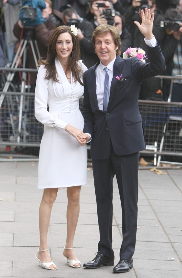 Paul McCartney marries Nancy Shevell in London