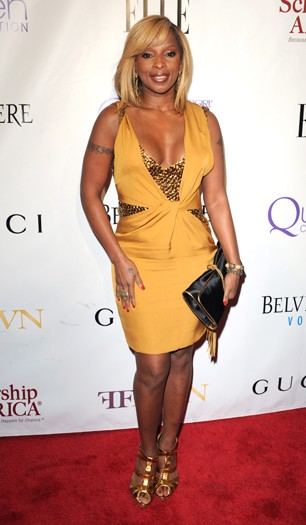 Mary J Blige at the Mary J Blige Honors concert