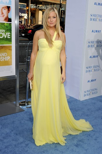 Kate Hudson at the premiere of Something Borrowed
