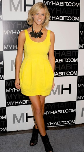 Brooklyn Decker at the launch of Myhabitat.com
