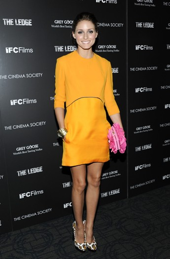Olivia Palermo at a screening of The Ledge