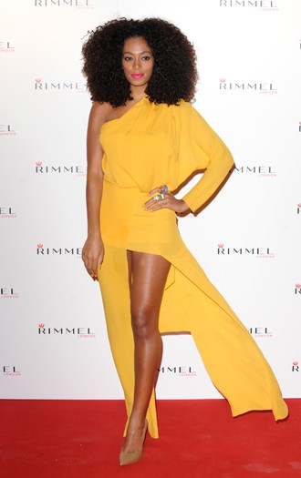Solange Knowles at the Rimmel London Party
