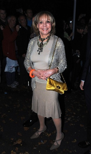 Barbara Walters arrives at the north London home of Sir Paul McCartney, following his marriage to Nancy Shevell