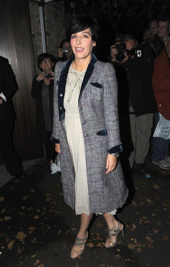 Sharleen Spiteri arrives at the north London home of Sir Paul McCartney, following his marriage to Nancy Shevell