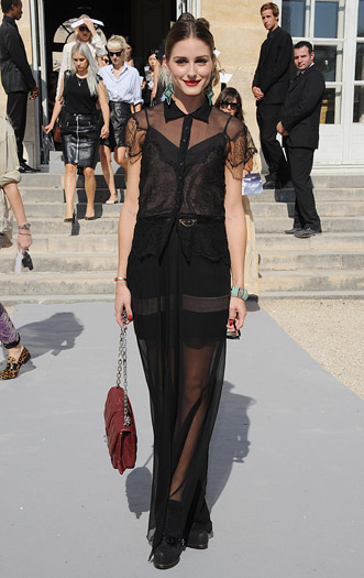 Olivia Palermo at Christian Dior