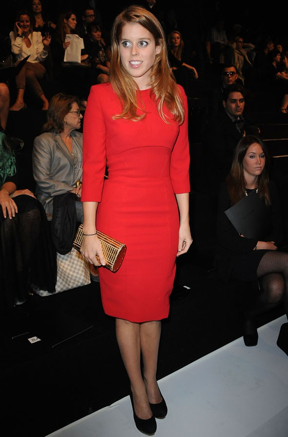 Princess Bea hits the front row at Elie Saab Paris Fashion Week