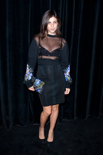 Julia Restoin-Roitfeld at the Givenchy after-party