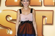 Hot or not: SJP's tri-colour babydoll dress