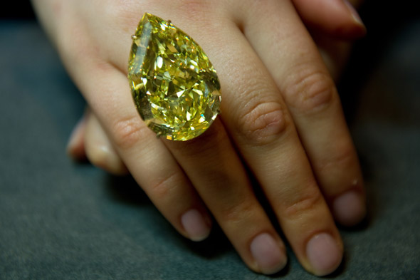 Sothebys to auction Cora Sun-Drop diamond, please buy and send to Team MyDaily