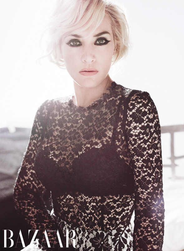 Kate Winslet's revealing appearance in Harper's Bazaar UK
