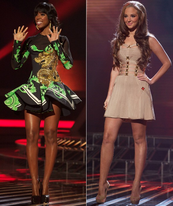 Kelly vs Tulisa: Who got your vote in the X Factor fashion battle?