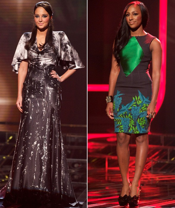 How did Alexandra Burke rate as X Factor stand-in for Kelly Rowland?