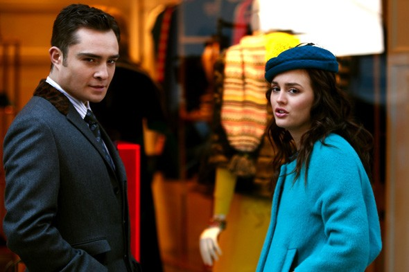 An encounter with Chuck leaves Blair looking blue (literally)