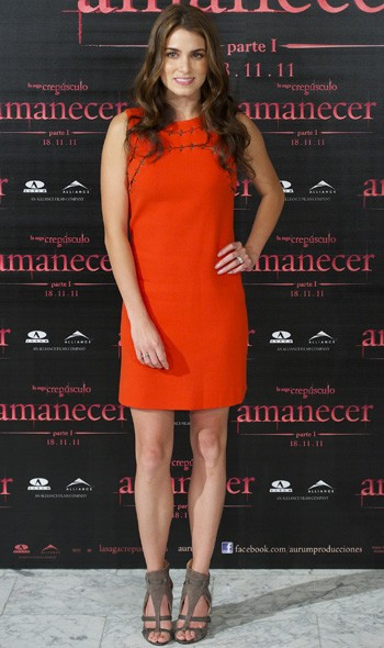 Nikki Reed at the Madrid photocall