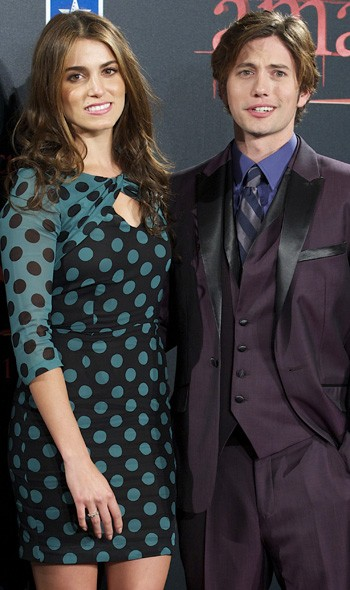 Nikki Reed and Jackson Rathbone at the Madrid premiere