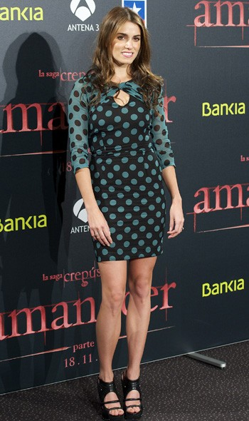 Nikki Reed at the Madrid premiere