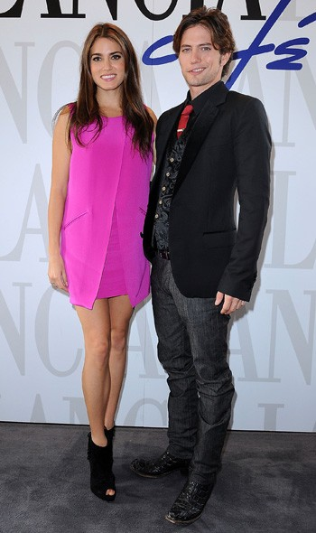 Nikki Reed and Jackson Rathbone at the Rome photocall