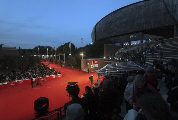 The Rome premiere red carpet
