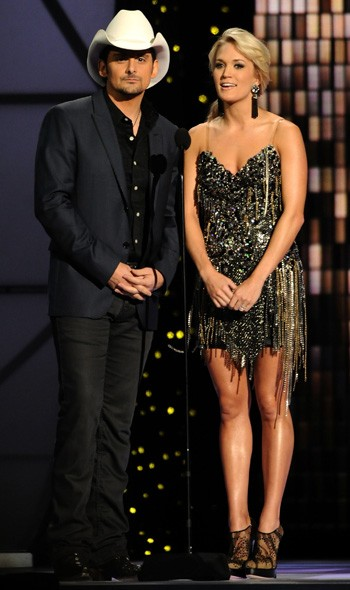 Blake Shelton and Carrie Underwood