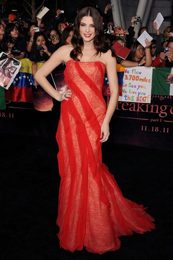 Ashley Greene at the world premiere